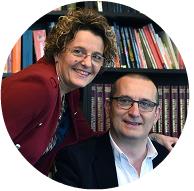 Марио Нардиело и Клаудиа Буси